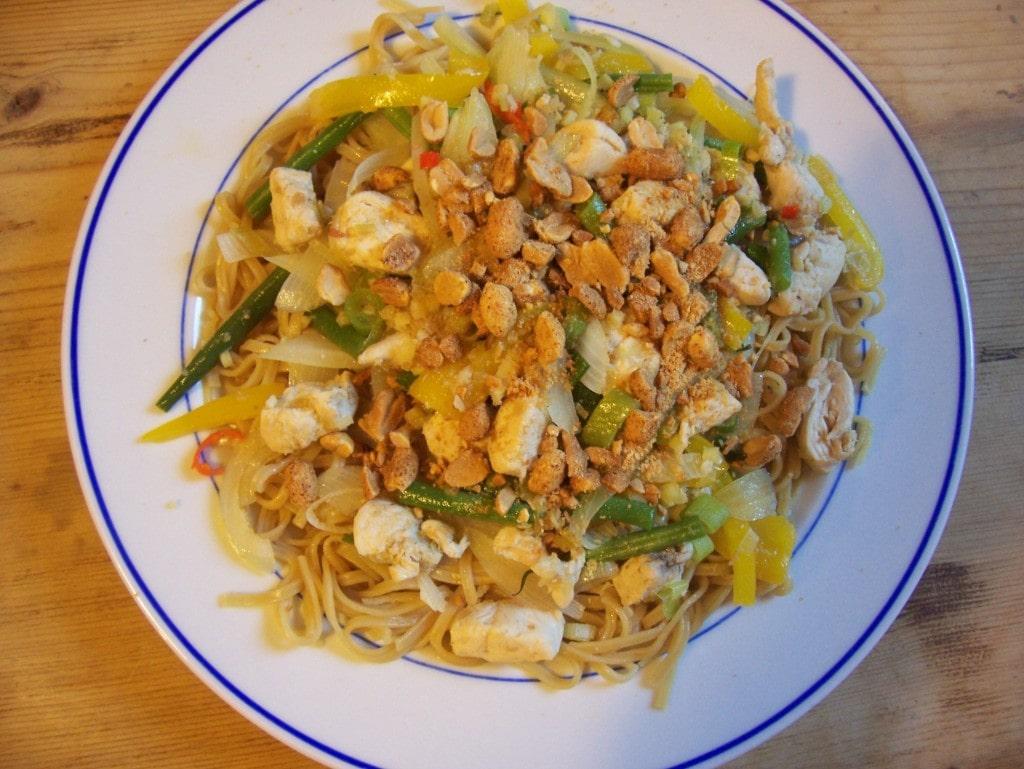 Lemongrass Chicken Stir Fry