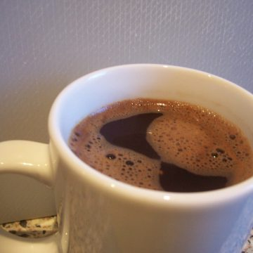 cardamom coffee in a cup