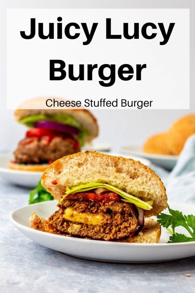 Juicy Lucy Burger pin image