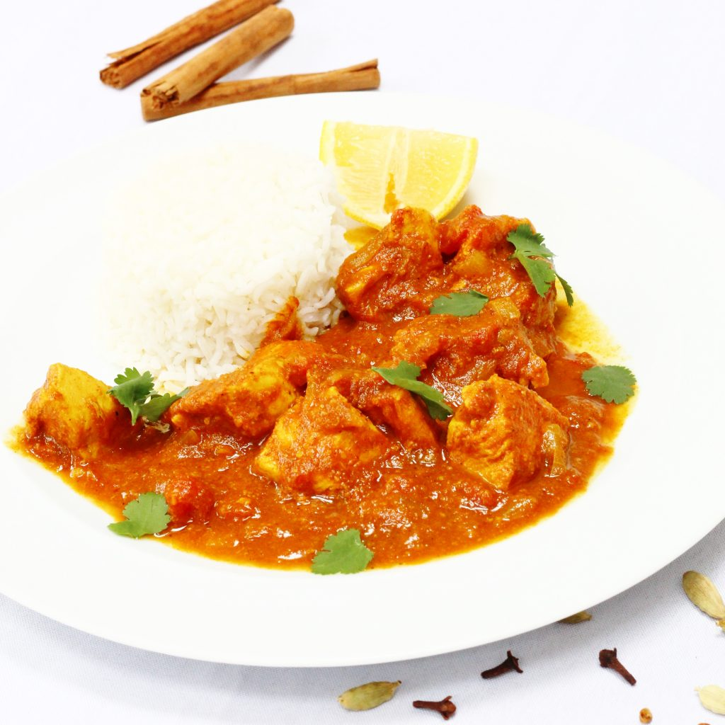 North Indian chicken curry