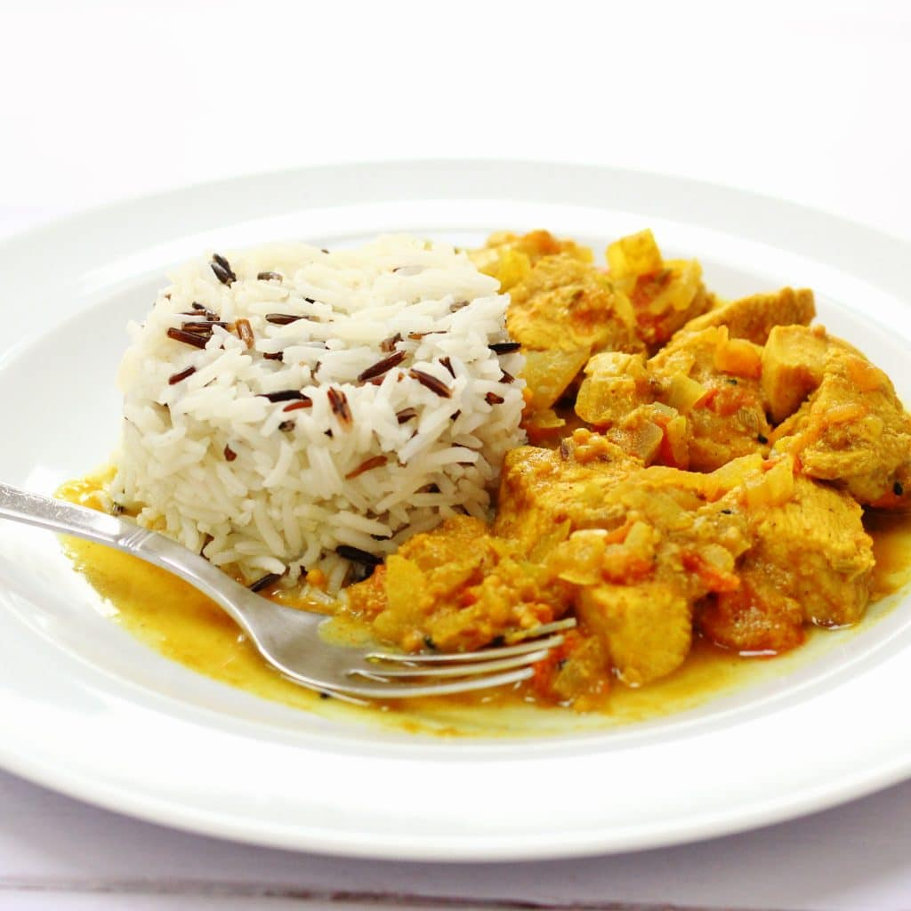 chicken curry with pickling spices