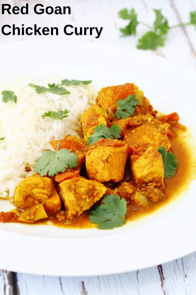 Easy Red Goan Chicken Curry Searching For Spice