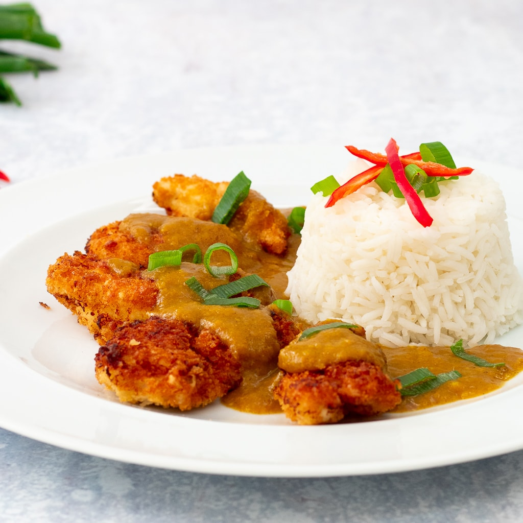 Chicken Katsu Curry Recipe from Scratch