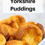 Yorkshire puddings pin image