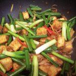 chilli and black pepper tofu