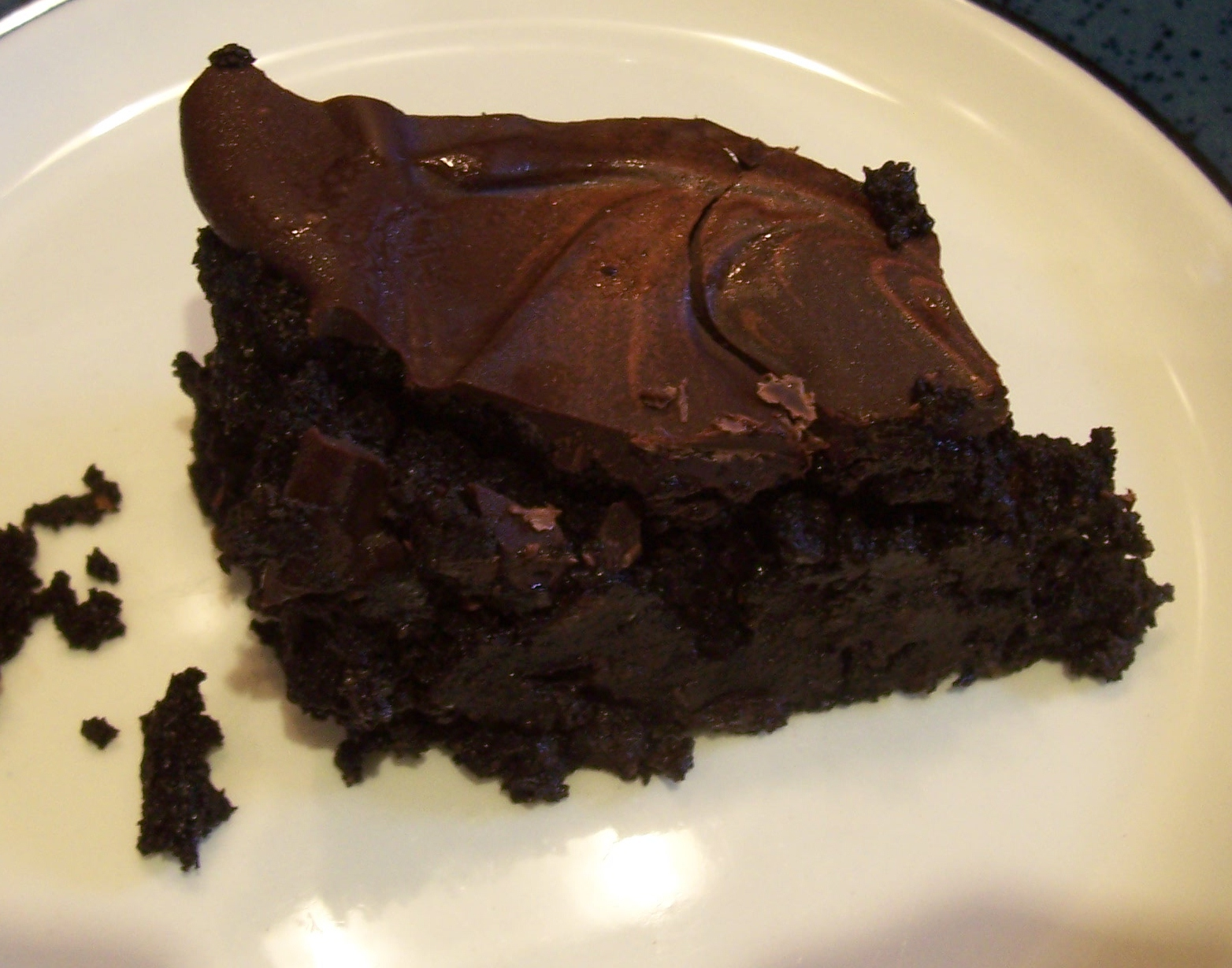 chocolate carob cake