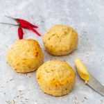 3 cheese and chilli scones