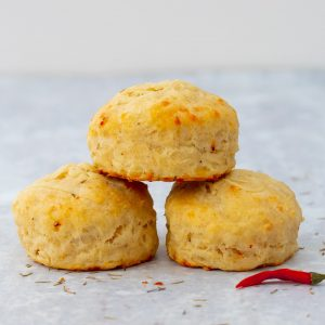 cheese and chilli scones