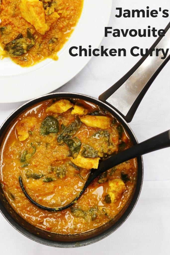 Jamie Olivers Favourite Chicken Curry