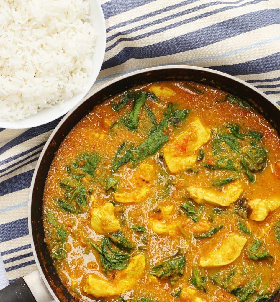 Jamie Oliver's favourite chicken curry recipe