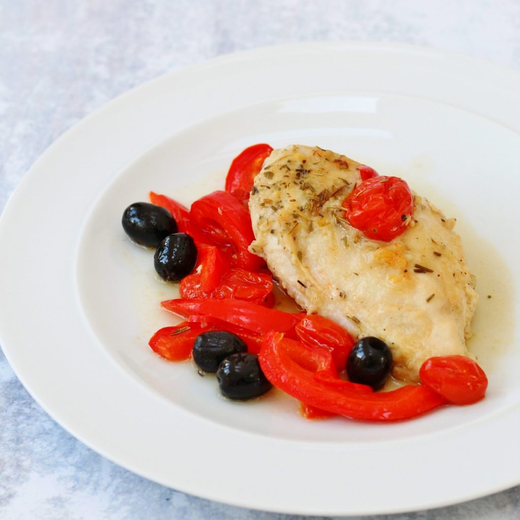 Baked italian chicken breast