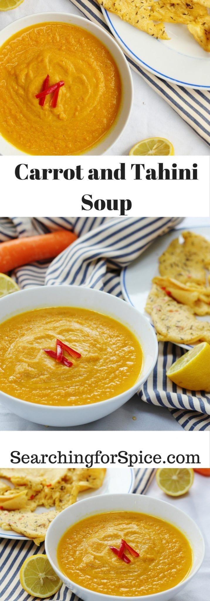 Carrot and Tahini Soup