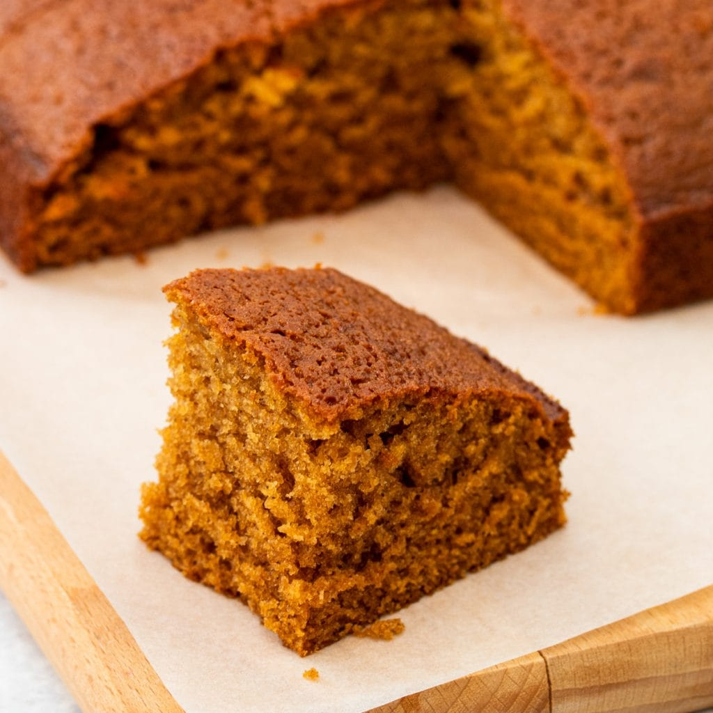 Piece of ginger cake
