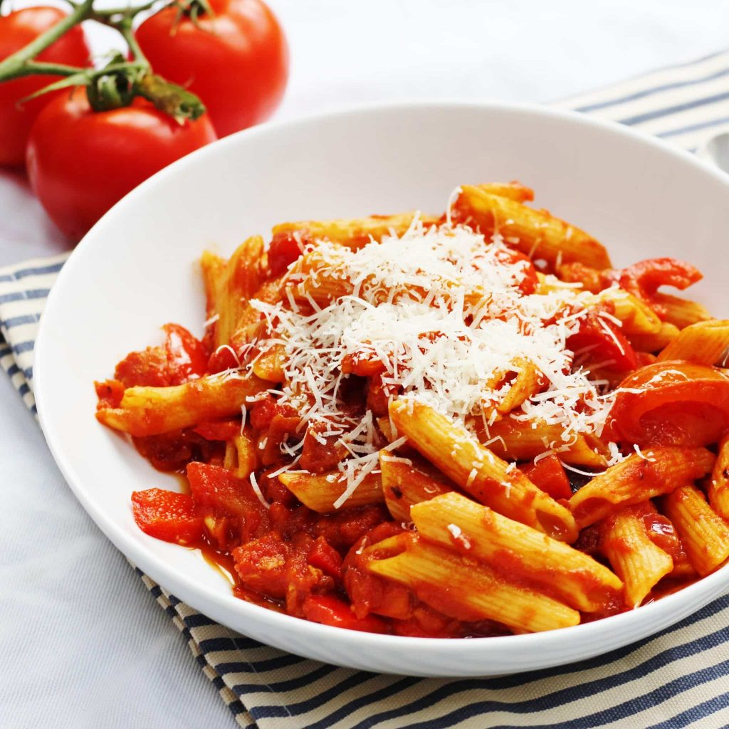 tomato and chorizo pasta