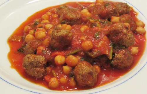 Jamie Oliver's Lamb Meatballs
