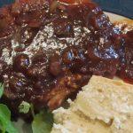 pork chop in barbecue sauce