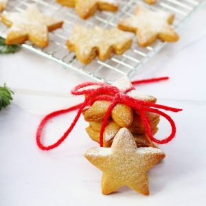 Soft Chewy Gingerbread biscuits