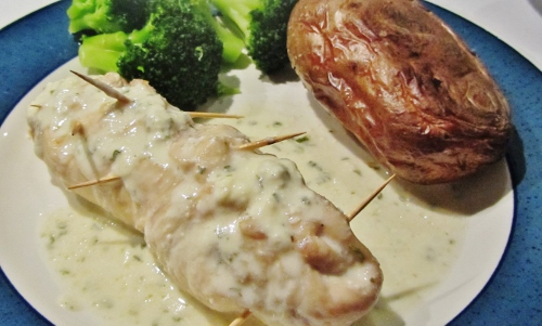 cream cheese stuffed chicken breasts