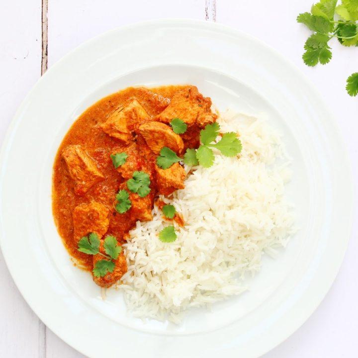 Butter chicken or Chicken Makhani