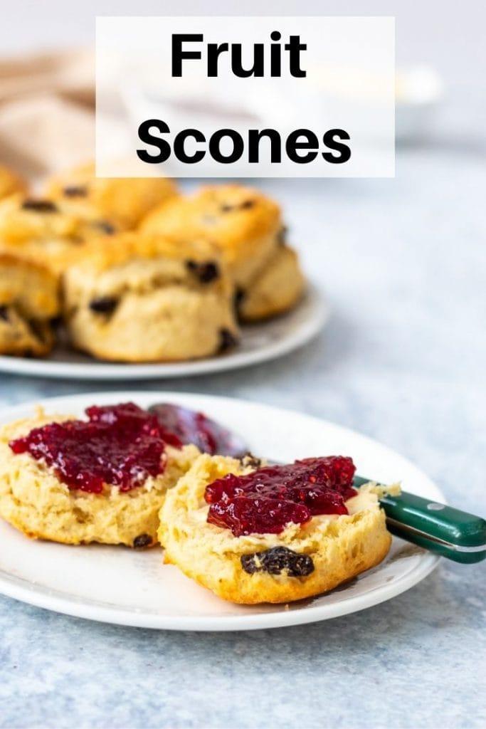Fruit scones pin image