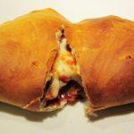 Ham and Mushroom Calzone