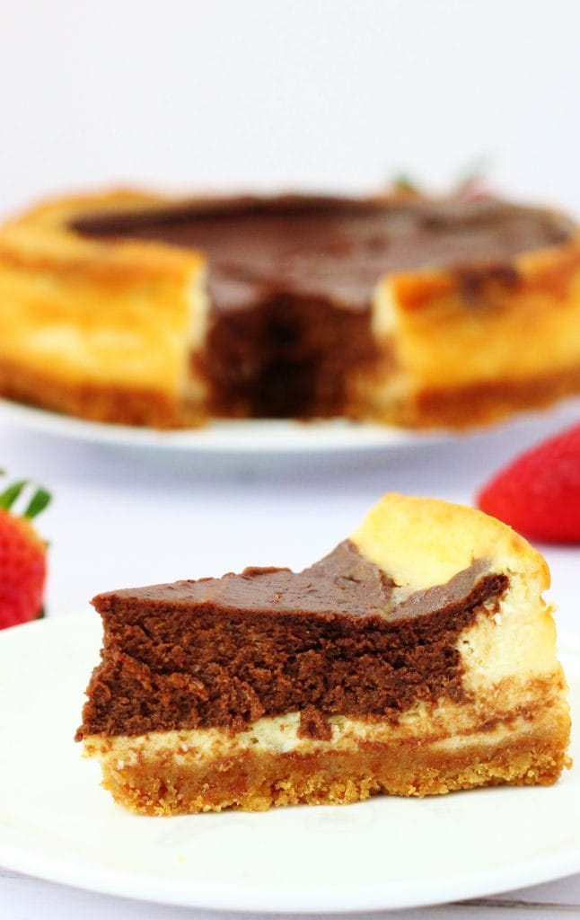 Mary Berry's American Style Chocolate cheesecake