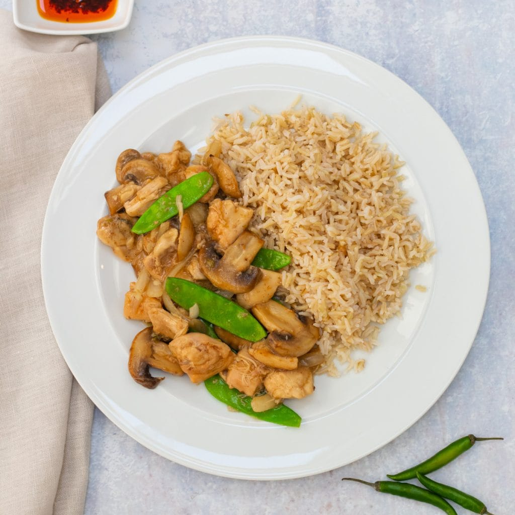 Slow cooker Chinese chicken stew