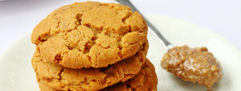 Peanut butter cookies. These tasty peanut butter biscuits make a great morning or afternoon snack