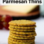 Basil and parmesan thins pin image