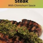 Honey lime steak pin image
