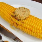 corn on the cob with Indian spiced butter