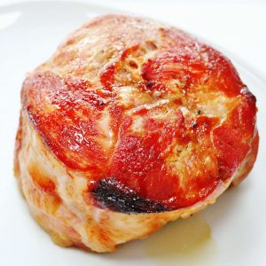 Maple and Mustard Glazed Ham