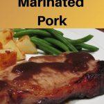 Jasmine tea marinated pork pin image