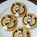Olaf biscuits pin image