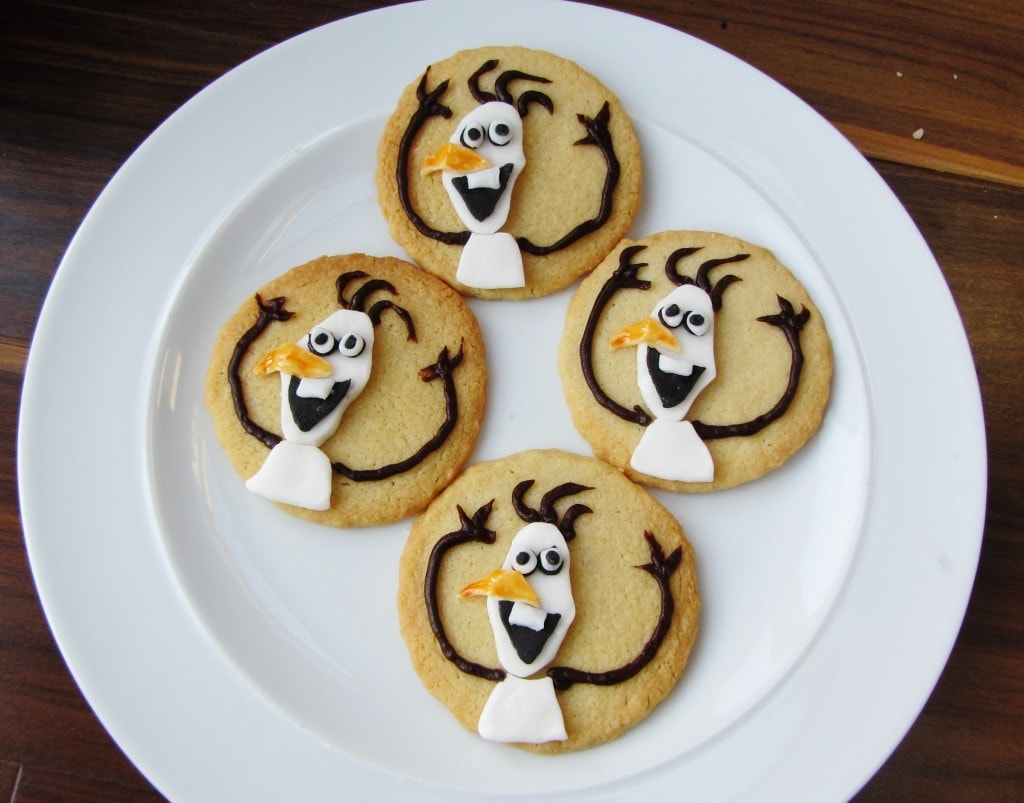 Frozen Olaf Biscuits