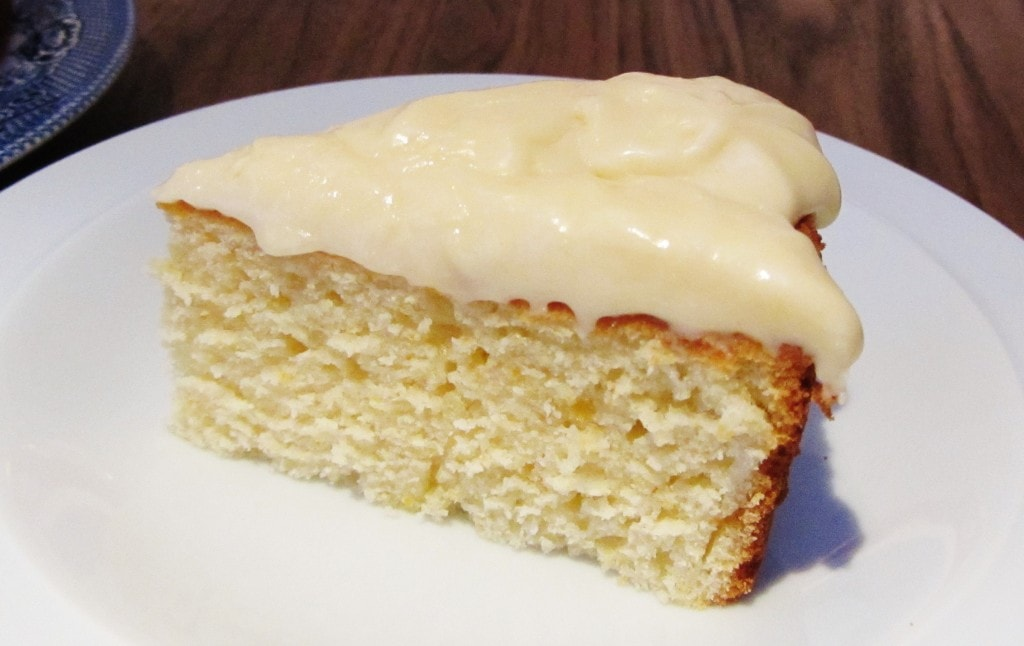 orange buttermilk cake with cream cheese marmalade icing