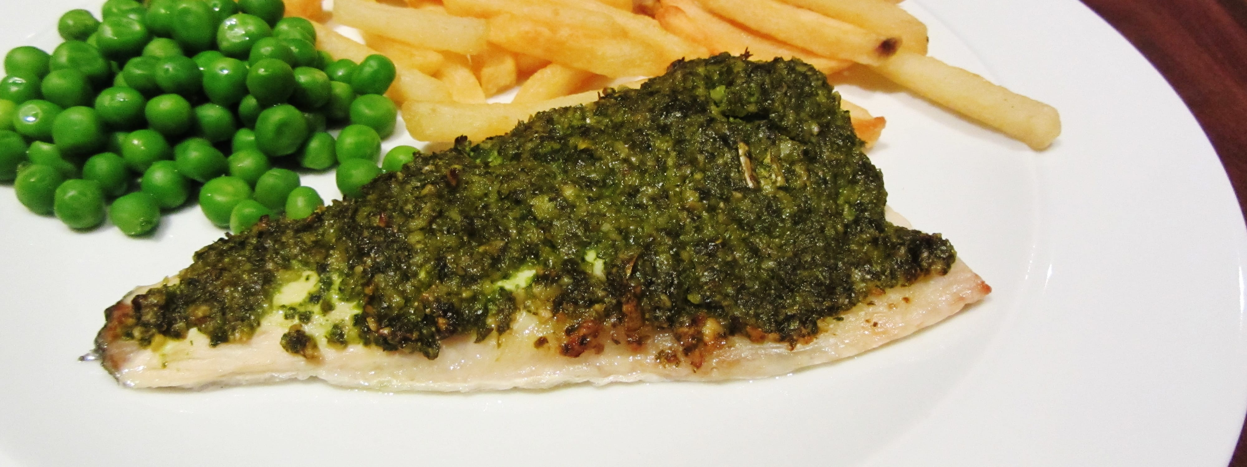 Recipe redux pesto crusted sea bass searching for spice for Turkish sea bass recipe