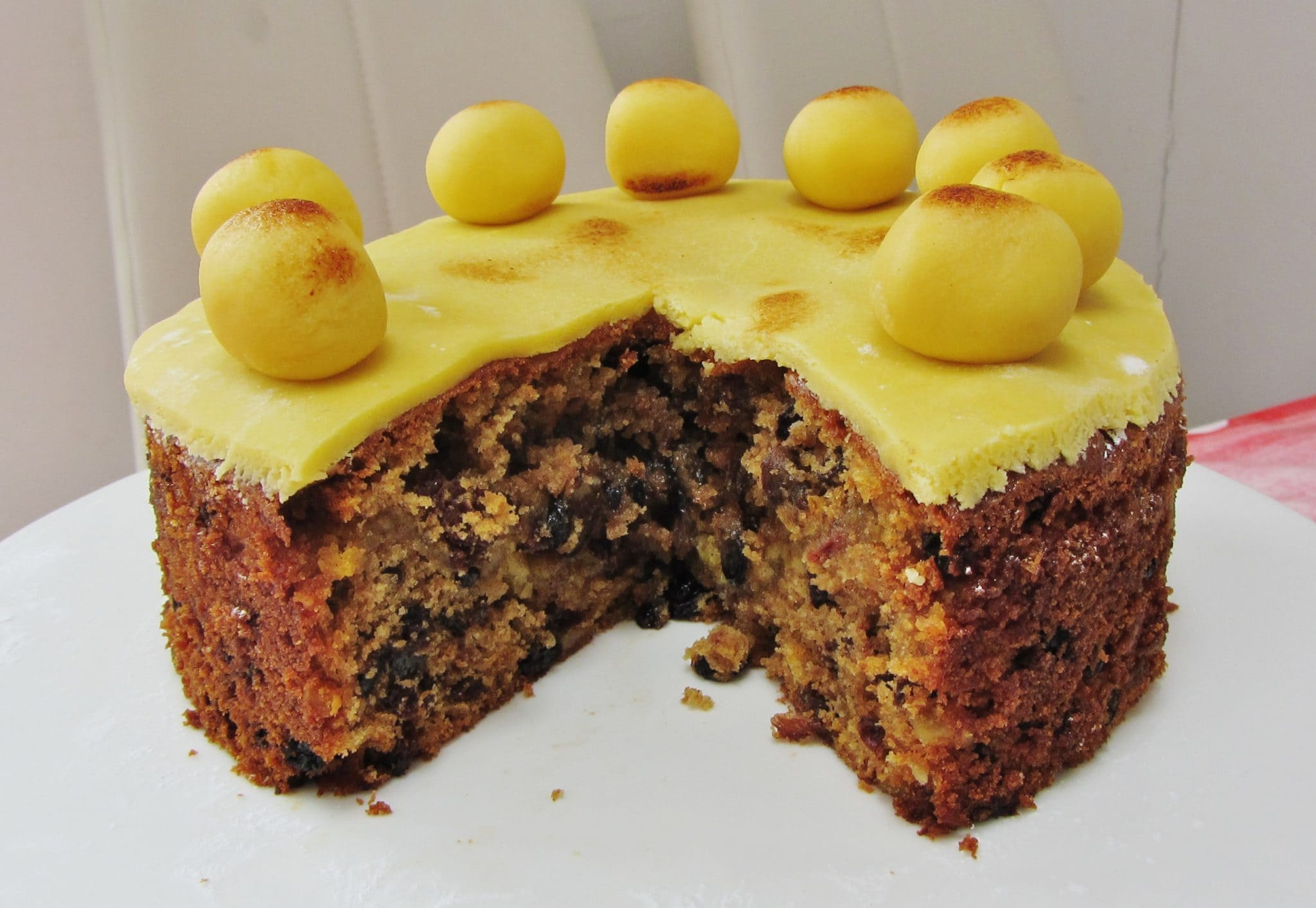 Easter Simnel Cake - Searching for Spice