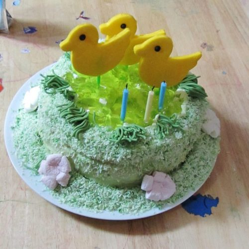 Amazing Duck Birthday Cake Searching For Spice Funny Birthday Cards Online Alyptdamsfinfo