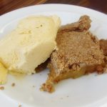 apple pie with spiced wholemeal pastry