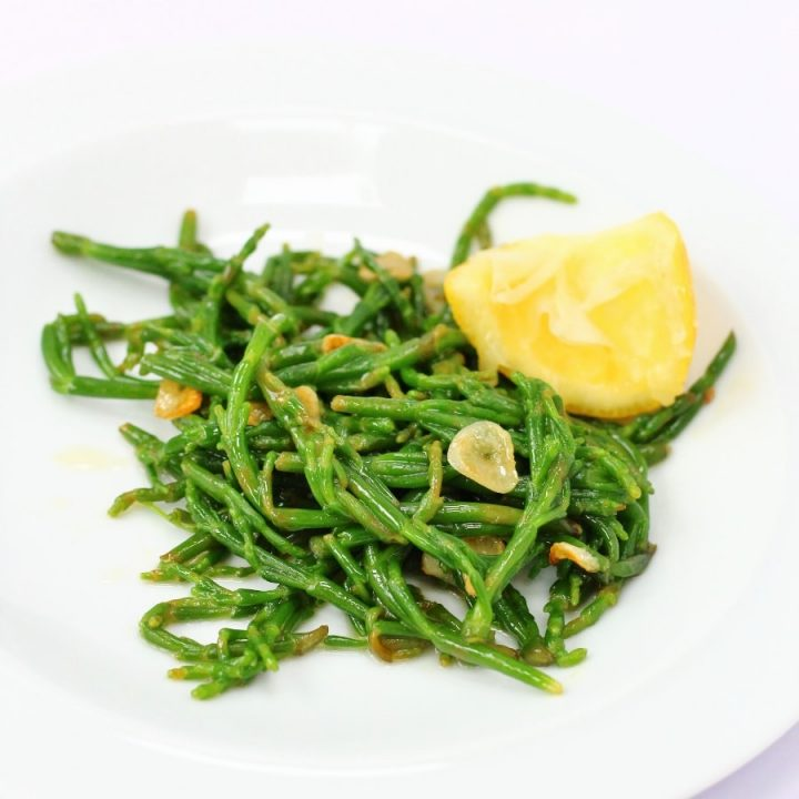 Buttery Garlic and Lemon Samphire