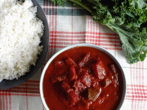 beef and beetroot curry