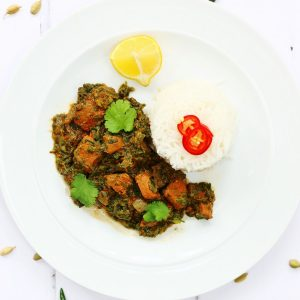 Lamb Saag | Lamb and Spinach Curry