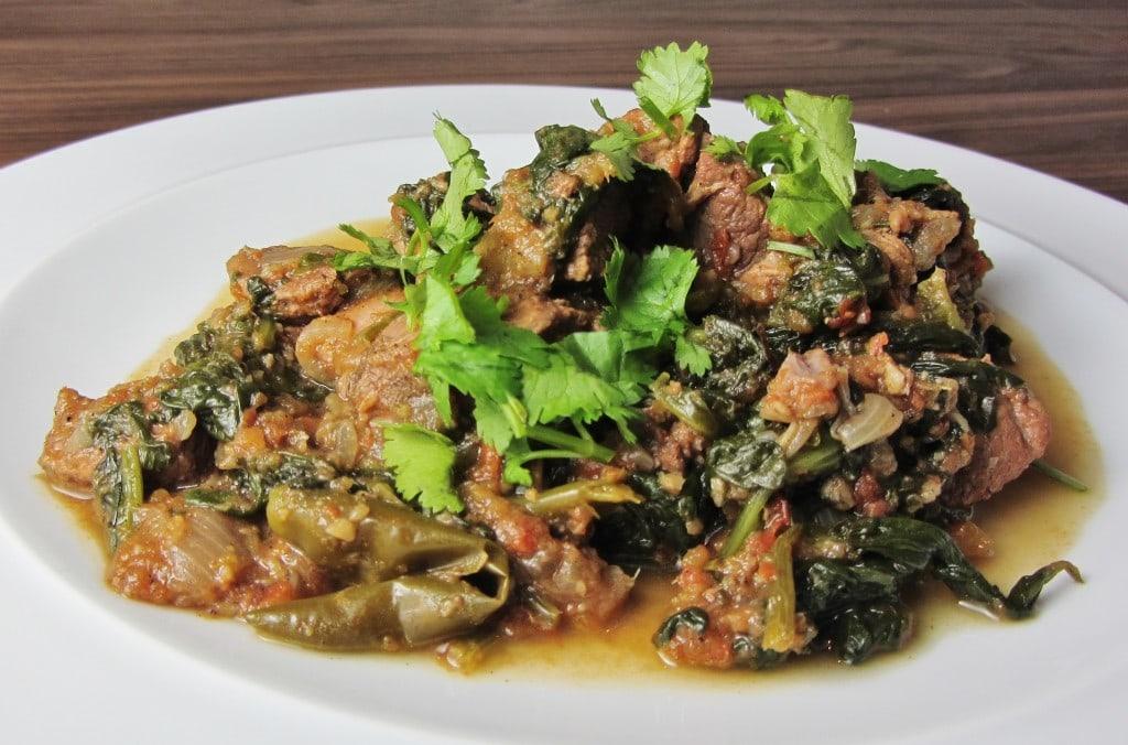 Lamb Saag curry