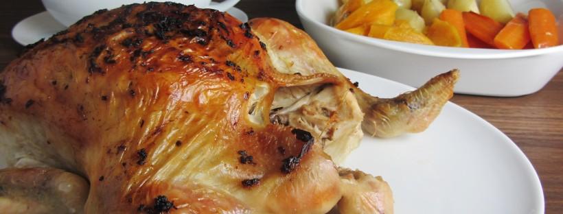 Garlic Roasted Chicken