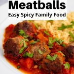 Pin image for mint and lamb meatballs