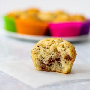 Chocolate chip chia muffin