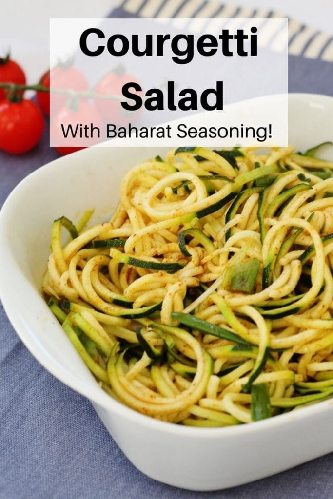 Courgetti Salad pin image