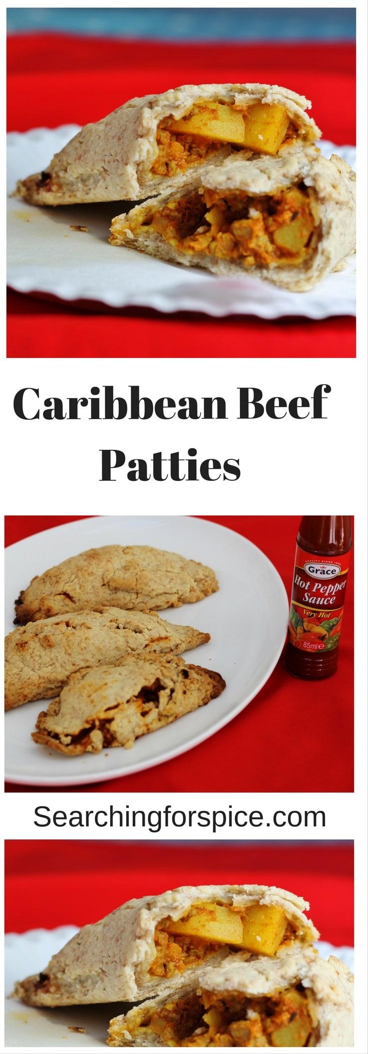 Caribbean Beef Patties