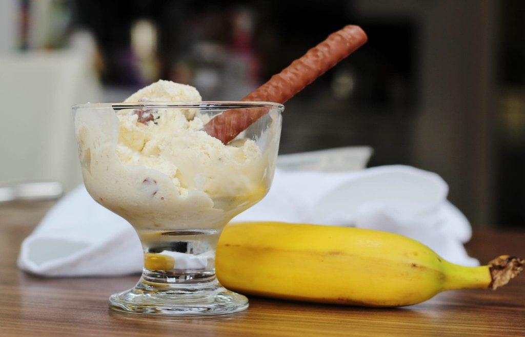 Banana fudge ice cream